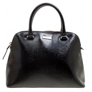 Kate Spade Black Patent Leather Cameron Street Satchel