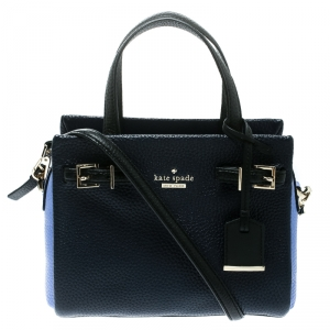Kate Spade Two Tone Leather Small Holden Street Lanie Top Handle Bag
