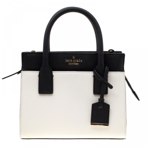 Kate Spade Tri-color Leather Mini Candace Top Handle Bag