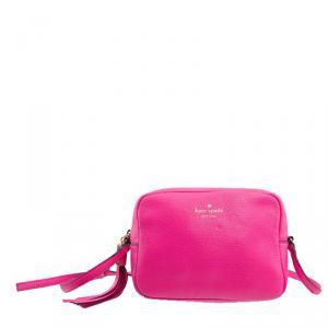 Kate Spade Pink Leather Orchard Street Penelope Crossbody Bag