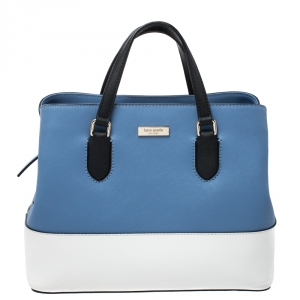 Kate Spade Tricolor Leather Jeanne Tote