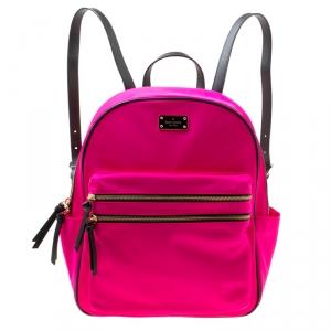 Kate Spade Pink Nylon Bradley Backpack