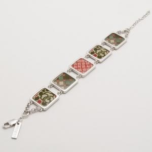 KENZO Silver & Enamel Bracelet