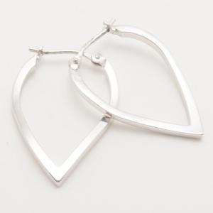 KENZO Aoba Silver Earrings