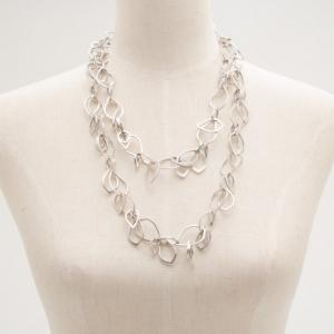 KENZO Aoba Silver Necklace
