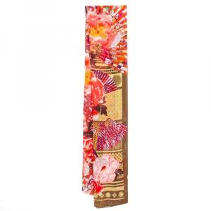 Kenzo Multicolor Floral Printed Silk Scarf