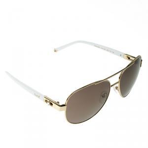 Korloff Gold/Gold KOR2026 Aviator Sunglasses