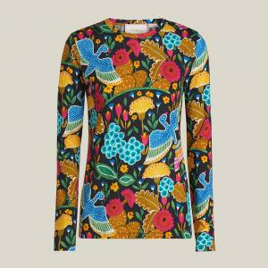 La DoubleJ Multicoloured Printed Cotton-Jersey Top Size L