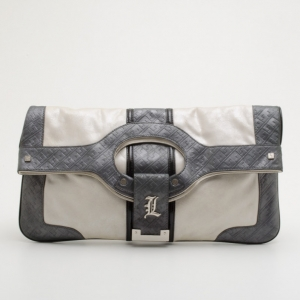 L.A.M.B 'Frosted Love' Treviso Convertible Clutch