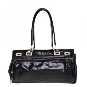 Lancel Black Leather Satchel