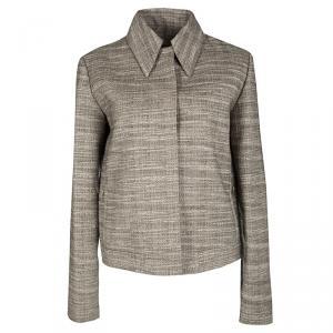 Lanvin Vintage Brown Textured Jacket M