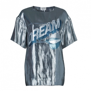 Lanvin Dream Metallic Lame Top M