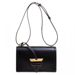 Loewe Black Leather Barcelona Crossbody Bag