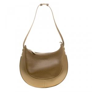 Loewe Taupe Leather Hobo