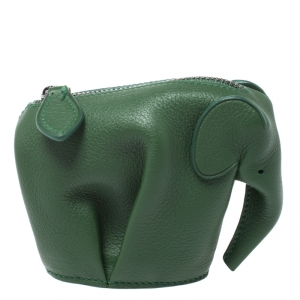 Loewe Elephant Coin Pouch