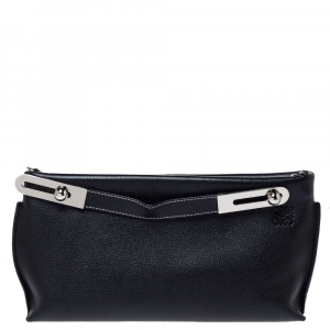 Loewe Black Leather Missy Crossbody Bag