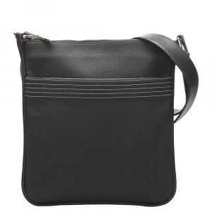 Loewe Black Leather Anagram Bag