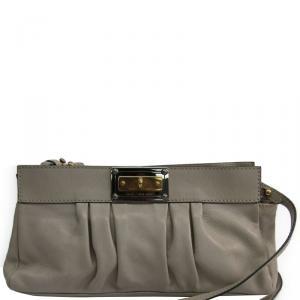 Marc Jacobs Light Beige Leather Shoulder Bag
