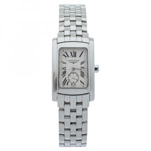 Longines Silver Stainless Steel Dolce Vita L51554716 Women's Wristwatch 20 mm