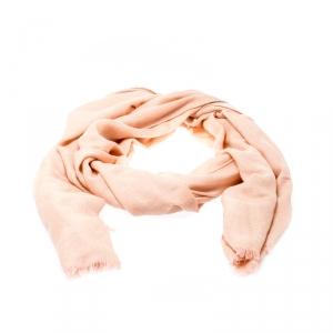 Loro Piana Pale Pink Cashmere Scarf