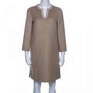 Loro Piana Camel Beige Cashmere Tunic S - used