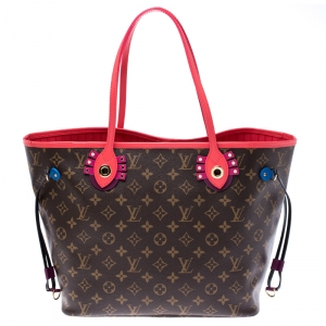 Louis Vuitton Flamingo Monogram Canvas Neverfull Totem NM MM Bag