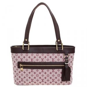 Louis Vuitton Pink Monogram Mini Lin Lucille PM TST Bag