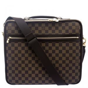 Louis Vuitton Damier Ebene Canvas Sabana Laptop Bag