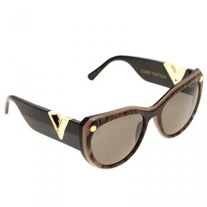 Louis Vuitton Leopard Print/Black Z1113W My Fair Lady Sunglasses