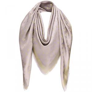 Louis Vuitton Grey Monogram Shine Shawl