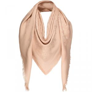 Louis Vuitton Dune Monogram Silk and Wool Shawl