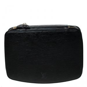 Louis Vuitton Black Epi Leather Monte-Carlo Jewelry Box