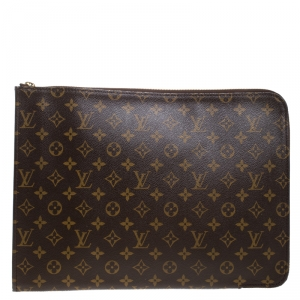 Louis Vuitton Monogram Canvas Poche Documents Portfolio Case