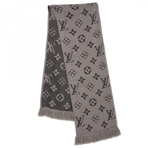 Louis Vuitton Verone Logomania Wool & Silk Scarf