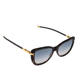 Louis Vuitton Dark Tortoise / Grey Gradient Z0629W Charlotte Sunglasses