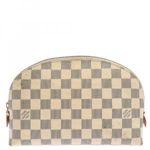 Louis Vuitton Damier Azur Canvas Cosmetic Pouch