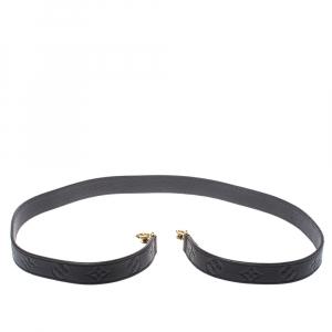 Louis Vuitton Black Empreinte Leaher Shoulder Strap