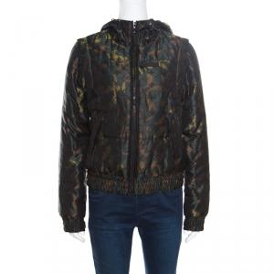 Louis Vuitton X Takashi Murakami Monogramouflage Convertible Puffer Jacket/Vest M