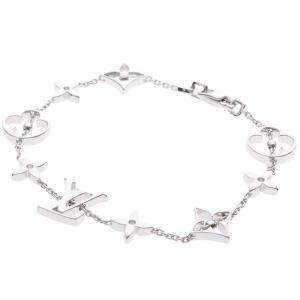Louis Vuitton Idylle Blossom 18K White Gold Bracelet