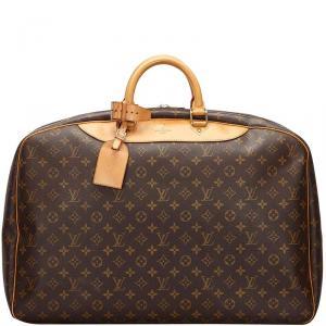 Louis Vuitton Monogram Canvas Alize 24 Heures Soft Suitcase