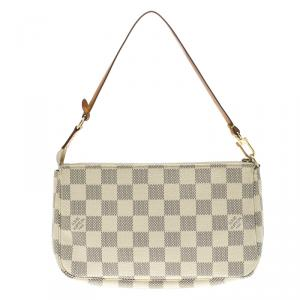 Louis Vuitton Damier Azur Canvas Pochette Accessories