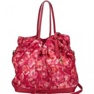 Louis Vuitton Indian Rose Monogram Ikat Floral Nylon Limited Edition Noefull Bag