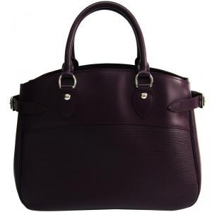 Louis Vuitton Cassis Epi Leather Passy Bag