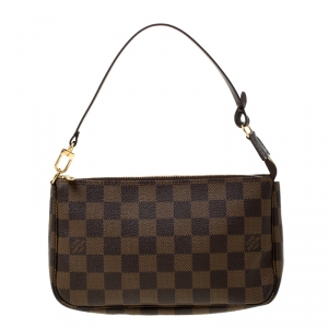 Louis Vuitton Damier Ebene Canvas Pochette Accessories