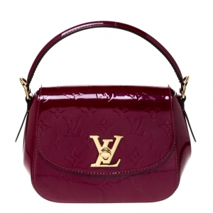 Louis Vuitton Rouge Fauviste Monogram Vernis Pasadena Bag