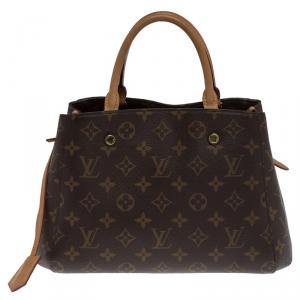 Louis Vuitton Monogram Canvas Montaigne BB Bag