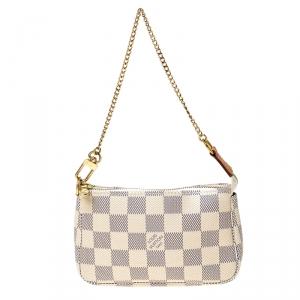 Louis Vuitton Damier Azur Canvas Mini Pochette Accessories