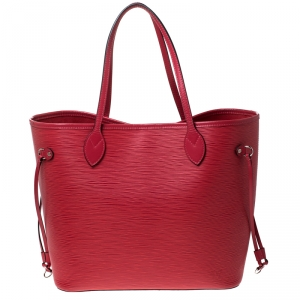 Louis Vuitton Grenade Epi Leather Neverfull MM Bag