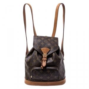 Louis Vuitton Monogram Canvas Montsouris Backpack MM Bag