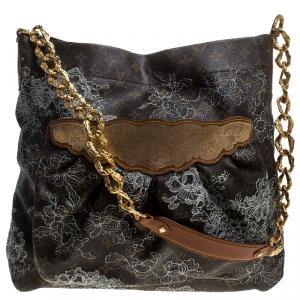 Louis Vuitton Monogram Canvas Limited Edition Dentelle Fersen GM Bag